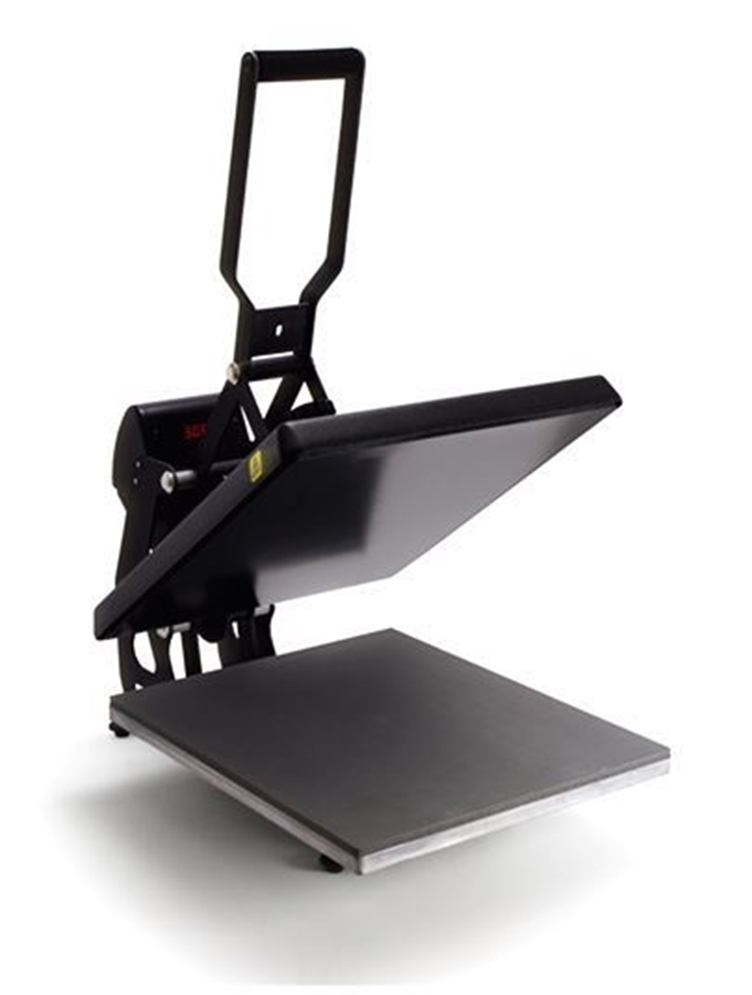 the hotronix maxx heat press open