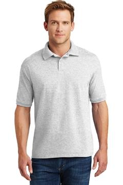 Hanes® EcoSmart® - 5.2-Ounce Jersey Knit Sport Shirt. 054X