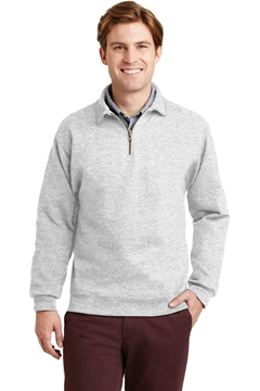 JERZEES® SUPER SWEATS® NuBlend® - 1/4-Zip Sweatshirt with Cadet Collar. 4528M