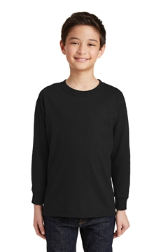Gildan® Youth Heavy Cotton ™ 100% Cotton Long Sleeve T-Shirt. 5400B