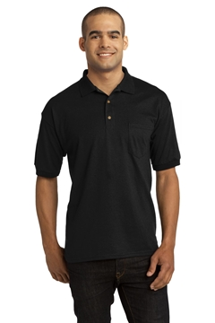 Gildan® DryBlend® 6-Ounce Jersey Knit Sport Shirt with Pocket. 8900