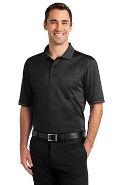 CornerStone® Select Snag-Proof Tipped Pocket Polo. CS415