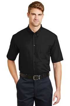 CornerStone® - Short Sleeve SuperPro ™ Twill Shirt. SP18