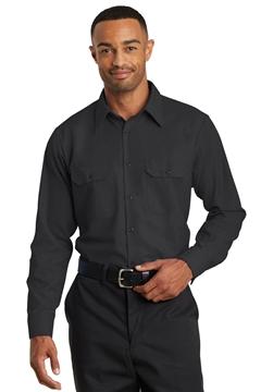 Red Kap® Long Sleeve Solid Ripstop Shirt. SY50