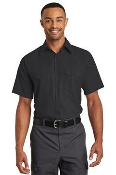 Red Kap® Short Sleeve Solid Ripstop Shirt. SY60