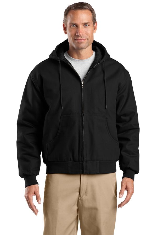 CornerStone® Tall Duck Cloth Hooded Work Jacket. TLJ763H