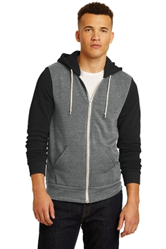 Alternative Colorblock Rocky Eco ™ -Fleece Zip Hoodie. AA32023