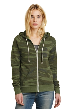 Alternative Women's Adrian Eco ™ -Fleece Zip Hoodie. AA9573