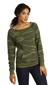 Alternative Women's Maniac Eco ™ -Fleece Sweatshirt. AA9582