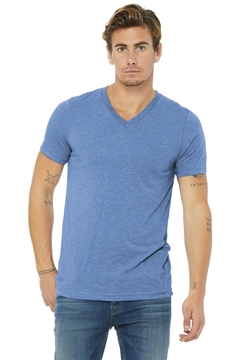 BELLA+CANVAS® Unisex Triblend Short Sleeve V-Neck Te. BC3415