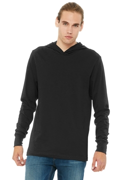 BELLA+CANVAS® Unisex Jersey Long Sleeve Hoodie. BC3512