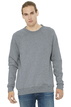 BELLA+CANVAS® Unisex Sponge Fleece Raglan Sweatshirt. BC3901