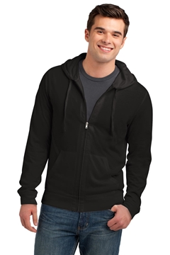 District® Jersey Full-Zip Hoodie. DT1100