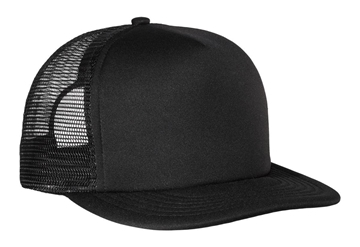 District® Flat Bill Snapback Trucker Cap. DT624