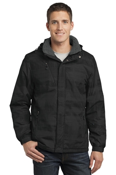 Port Authority® Brushstroke Print Insulated Jacket. J320