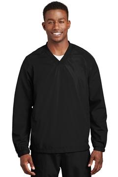 Sport-Tek® V-Neck Raglan Wind Shirt. JST72