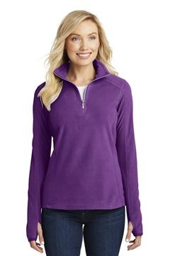 Port Authority® Ladies Microfleece 1/2-Zip Pullover. L224