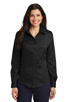 Port Authority® Ladies Non-Iron Twill Shirt. L638