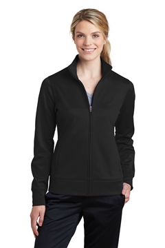 Sport-Tek® Ladies Sport-Wick® Fleece Full-Zip Jacket. LST241