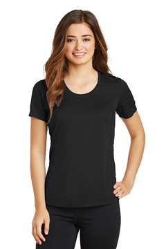 Sport-Tek® Ladies PosiCharge® Elevate Scoop Neck Tee. LST380
