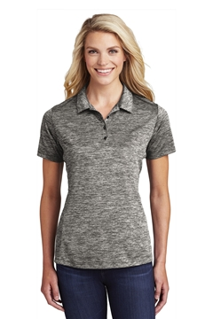 Sport-Tek® Ladies PosiCharge® Electric Heather Polo. LST590