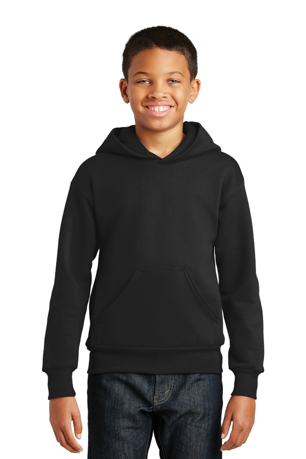 Hanes® - Youth EcoSmart® Pullover Hooded Sweatshirt. P470