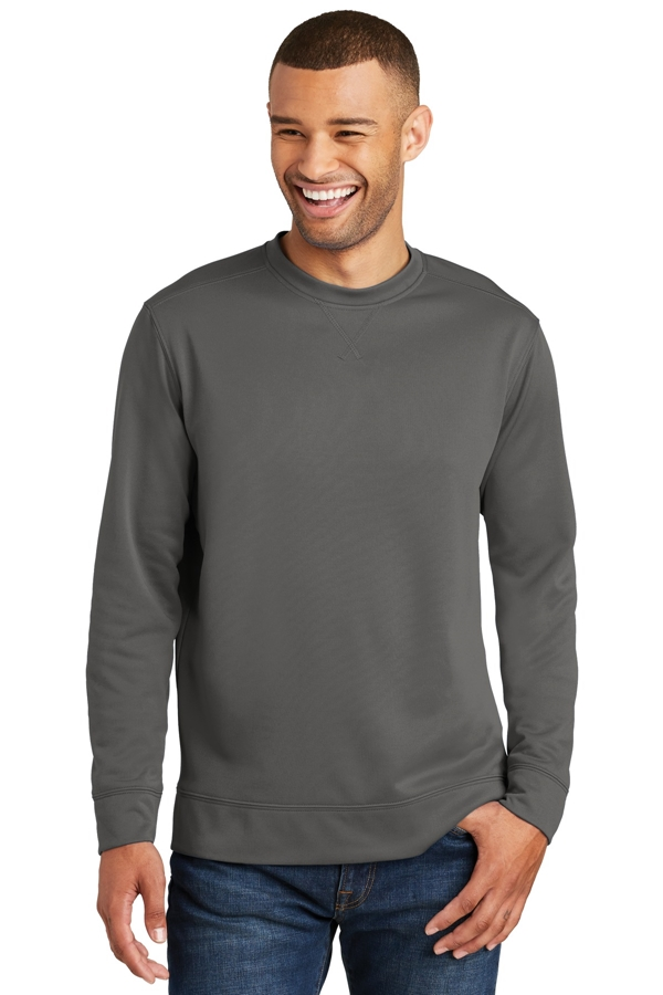 Port & Company® Performance Fleece Crewneck Sweatshirt. PC590
