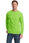 Port & Company® Tall Long Sleeve Essential Pocket Tee. PC61LSPT