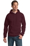 Port & Company® - Essential Fleece Pullover Hooded Sweatshirt. PC90H