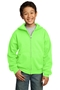 Port & Company® - Youth Core Fleece Full-Zip Hooded Sweatshirt. PC90YZH