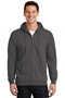 Port & Company® - Essential Fleece Full-Zip Hooded Sweatshirt. PC90ZH