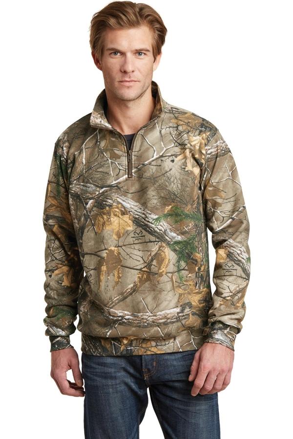 Russell Outdoors ™ Realtree® 1/4-Zip Sweatshirt. RO78Q