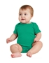 Rabbit Skins ™ Infant Short Sleeve Baby Rib Bodysuit. RS4400