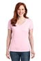 Hanes® Ladies Nano-T® Cotton V-Neck T-Shirt. S04V
