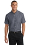 Port Authority® Short Sleeve SuperPro ™ Oxford Shirt. S659