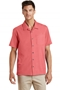 Port Authority® Textured Camp Shirt. S662