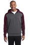 Sport-Tek® Tech Fleece Colorblock 1/4-Zip Hooded Sweatshirt. ST249