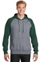 Sport-Tek® Raglan Colorblock Pullover Hooded Sweatshirt. ST267