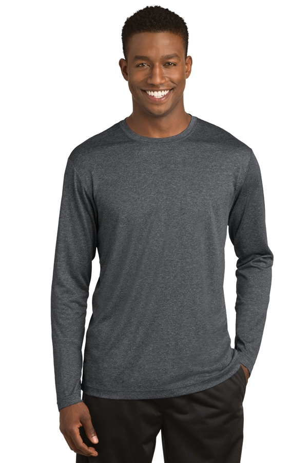 Sport-Tek® Long Sleeve Heather Contender ™ Tee. ST360LS