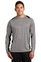 Sport-Tek® Long Sleeve Heather Colorblock Contender ™ Tee. ST361LS