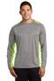 Sport-Tek® Long Sleeve Heather Colorblock Contender ™ Tee. ST361LS