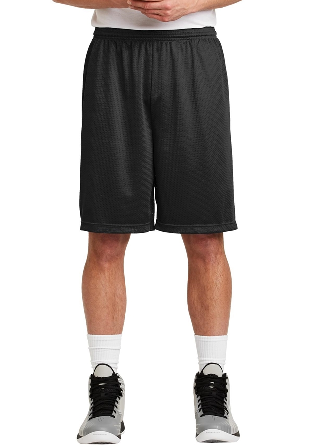 Sport-Tek® Long PosiCharge® Classic Mesh Short. ST515