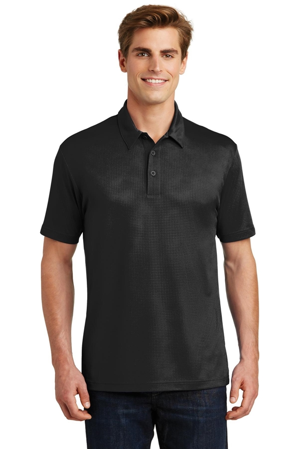 Sport-Tek® Embossed PosiCharge® Tough Polo® . ST630
