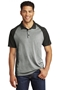 Sport-Tek® PosiCharge® RacerMesh® Raglan Heather Block Polo. ST641