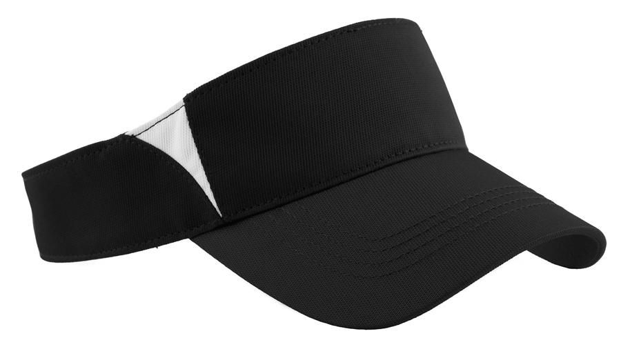 Sport-Tek® Dry Zone® Colorblock Visor. STC13