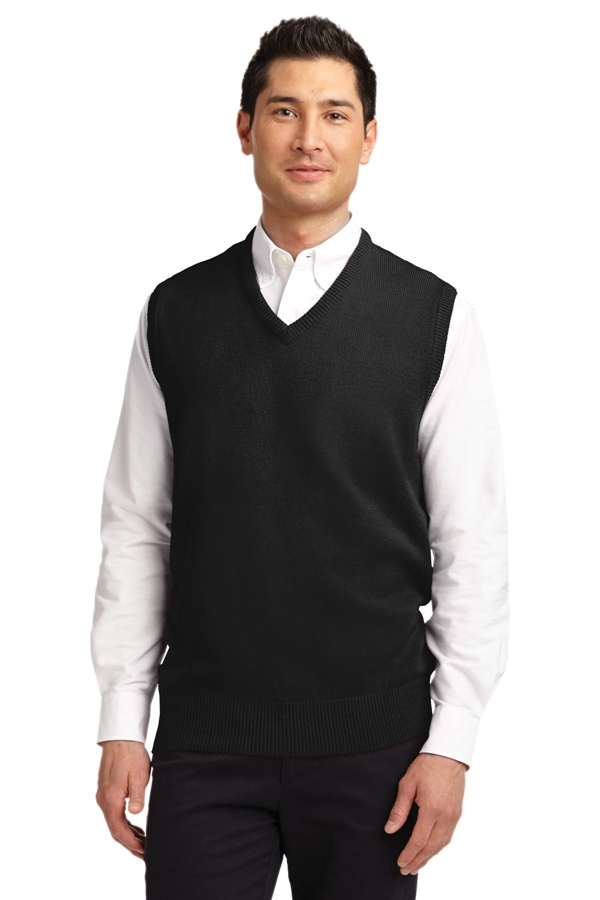 Port Authority® Value V-Neck Sweater Vest. SW301