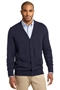 Port Authority® Value V-Neck Cardigan Sweater with Pockets. SW302