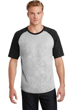 Sport-Tek® Short Sleeve Colorblock Raglan Jersey. T201