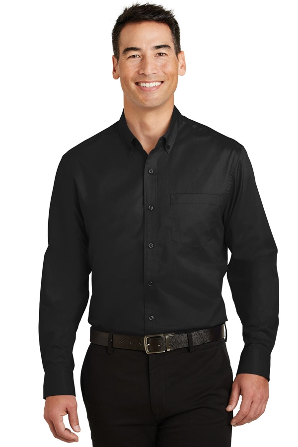 Port Authority® Tall SuperPro ™ Twill Shirt. TS663