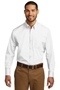 Port Authority® Tall Long Sleeve Carefree Poplin Shirt. TW100